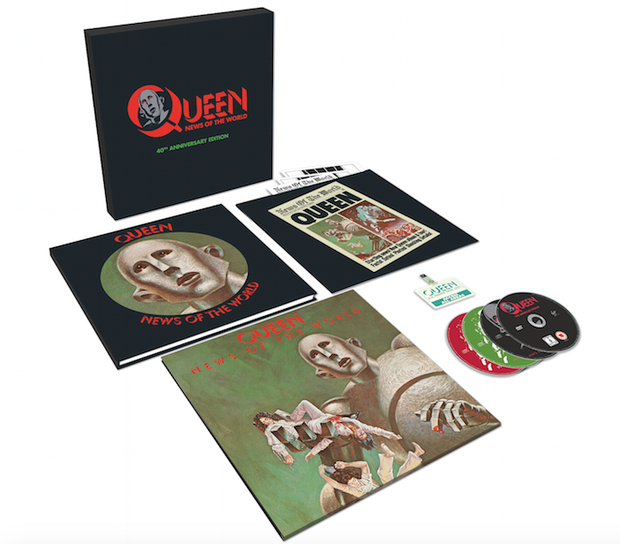 Queen 'News of the world' reissue
