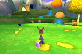 Spyro was a really colourful game